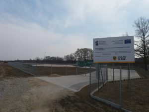 Budowa Punktu Selektywnej Zbiórki Odpadów Komunalnych w Gminie Prusice
