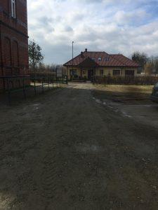 Zabezpieczenie budynku gospodarczego na ul. Żmigrodzkiej w Prusicach