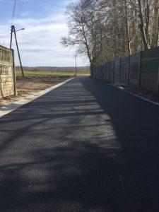 Przebudowa drogi w Brzeźnie