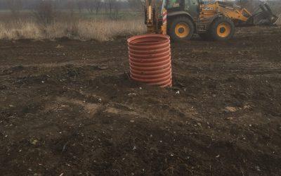 Rekultywacja składowiska odpadów w Krościnie Wielkiej wraz z budową 2 studni odgazowujących